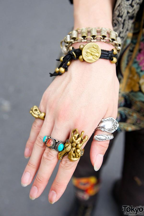 Qosmos Rings & Bracelet