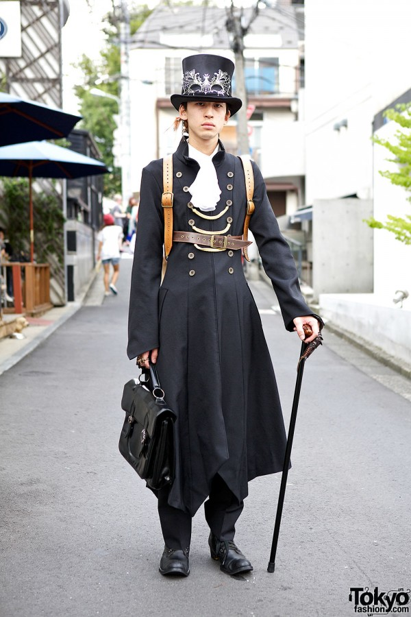 Japanese Steampunk Style in Harajuku