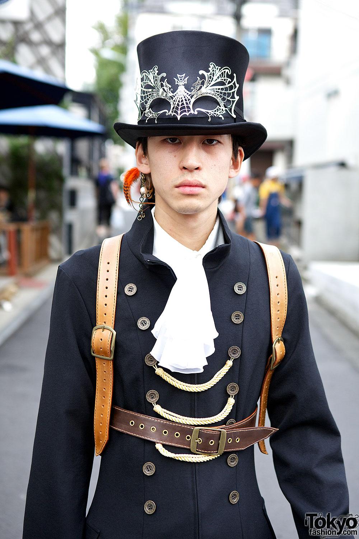 Japanese Steampunk Fashion W/ Atelier Boz & Garuktone In