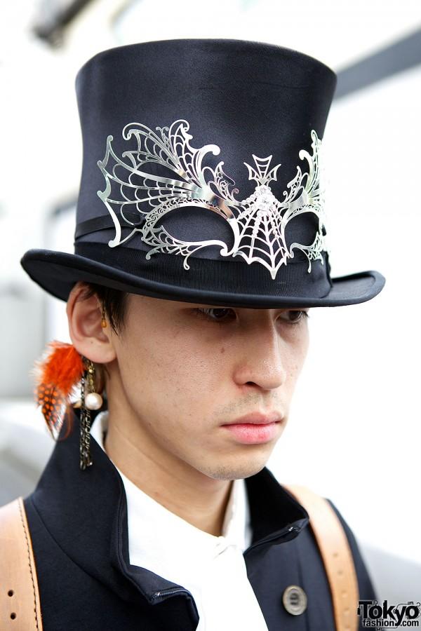 Top Hat & Masquerade Mask