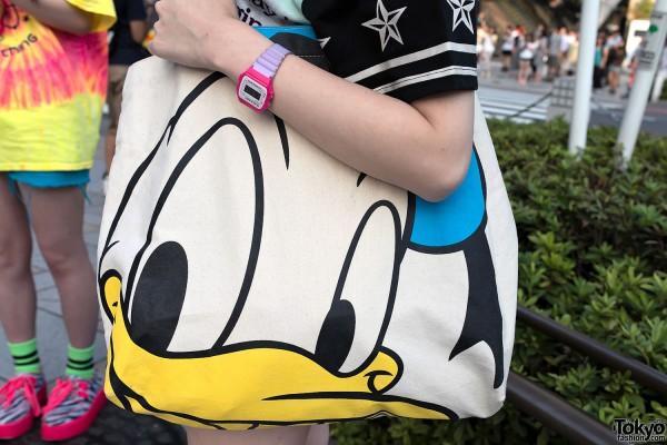 Donald Duck Tote Bag Harajuku