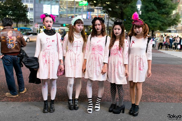 Halloween in Japan – Shibuya Street Party Costume Pictures