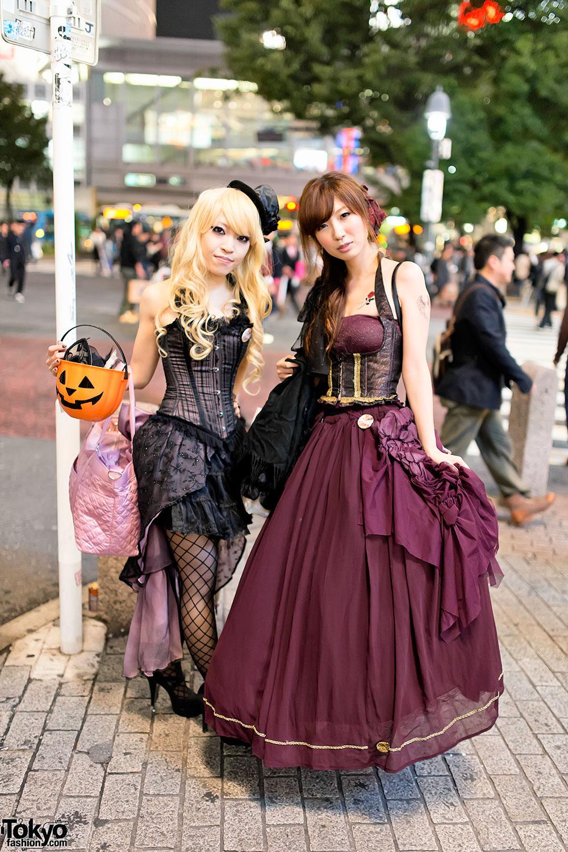 Halloween In Japan Shibuya 14 Tokyo Fashion News