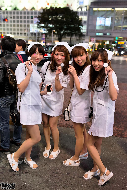 halloween in japan � shibuya 80 � tokyo fashion news