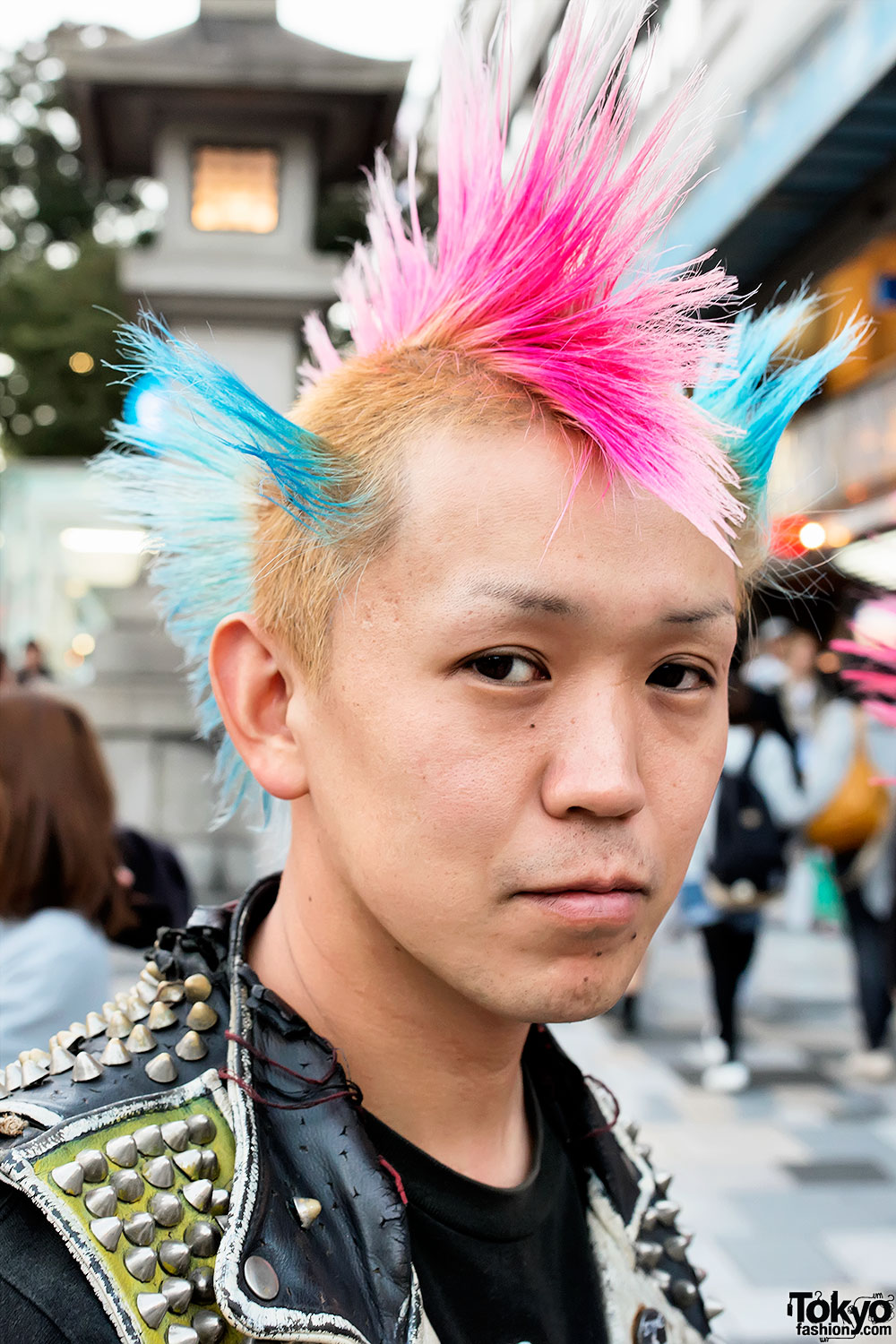 Harajuku Punks W Mohawks Studded Leather Amp Boots
