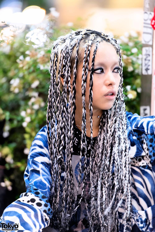 Hirari S Braids Hairstyle In Tokyo Tokyo Fashion News