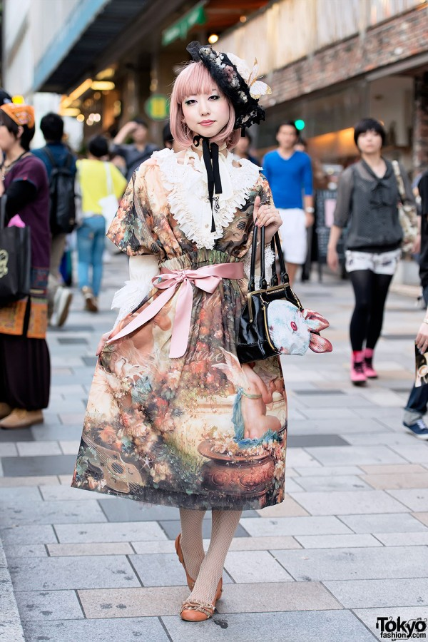 Juliette et Justine Dress in Harajuku
