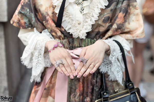 Pretty Butterfly Rings in Harajuku