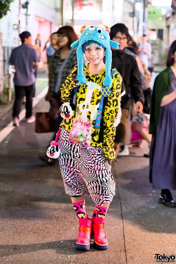 Haruka Kurebayashi in Super Lovers Fashion
