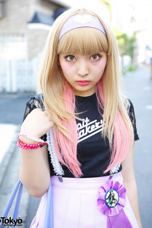 Lace Sleeve Katie Top in Harajuku
