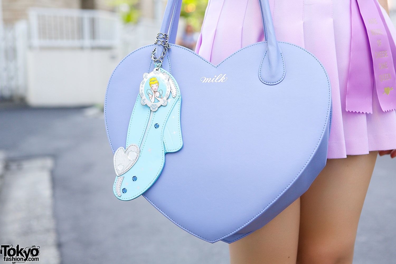 Milk Heart Shaped Handbag Amp Charm Tokyo Fashion News