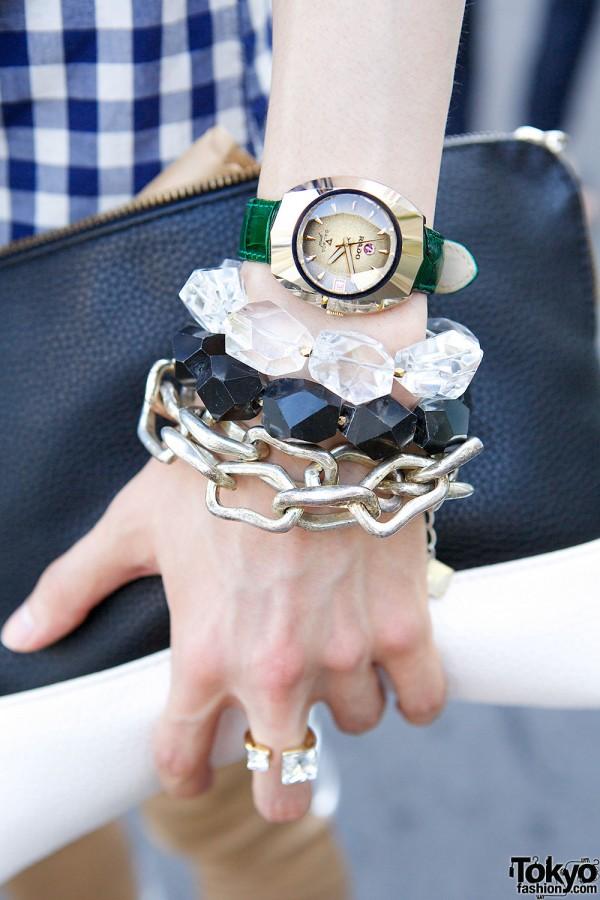 Rado Watch & Chain Bracelet