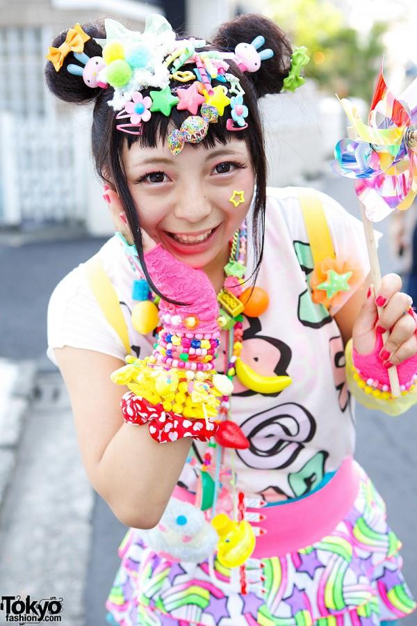 Harajuku Decora Hair Clips & Bracelets