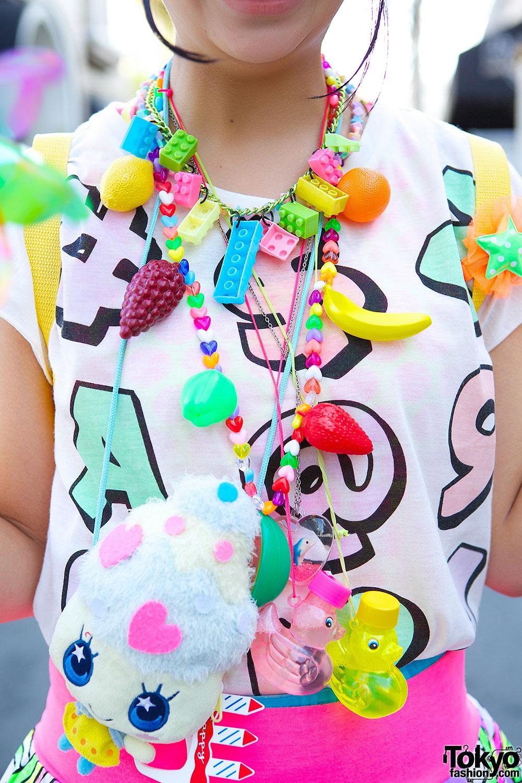 Kawaii Harajuku Decora Fashion w/ Hair Clips, Pinwheel & 6 ...
