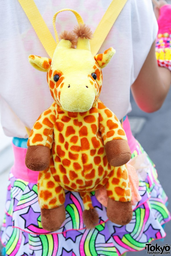 6%DOKIDOKI Giraffe Backpack