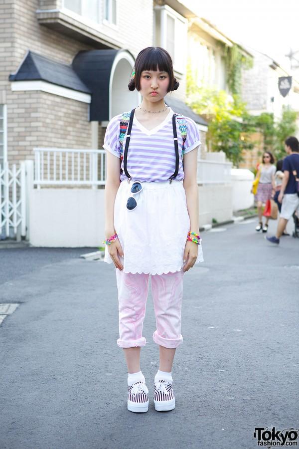 Layered Outfit w/ Panama Boy, Spinns & Paris Kids in Harajuku