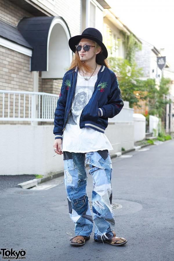 Orleans Pants & Undercover T-shirt