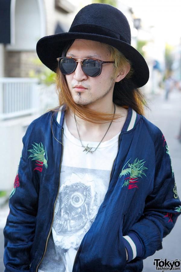 Sunglasses & Hat in Harajuku