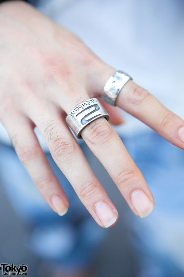 Beauty Beast Rings