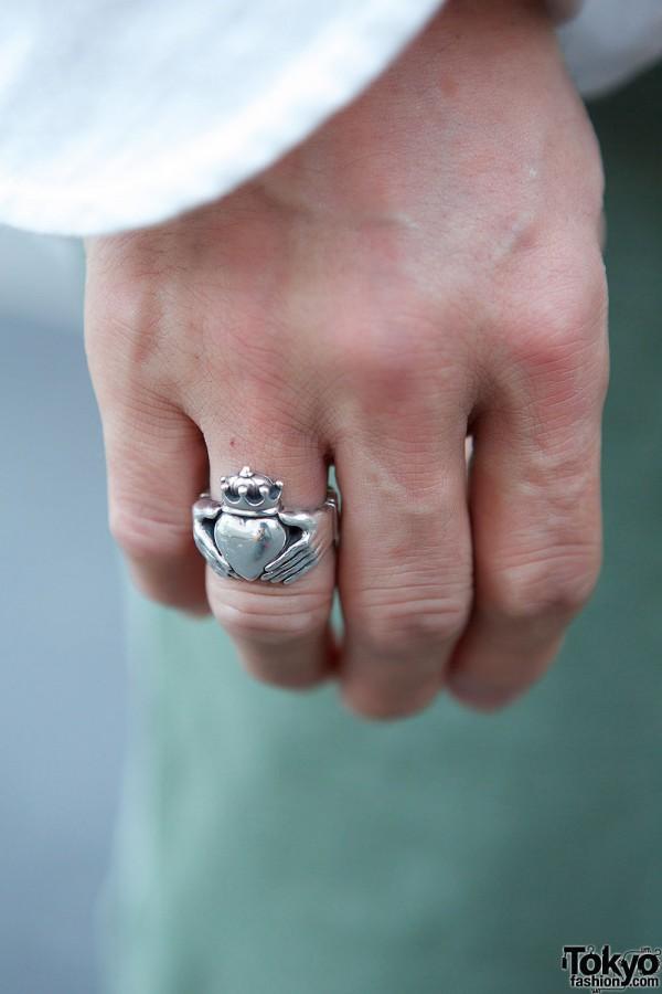Silver Ring in Harajuku