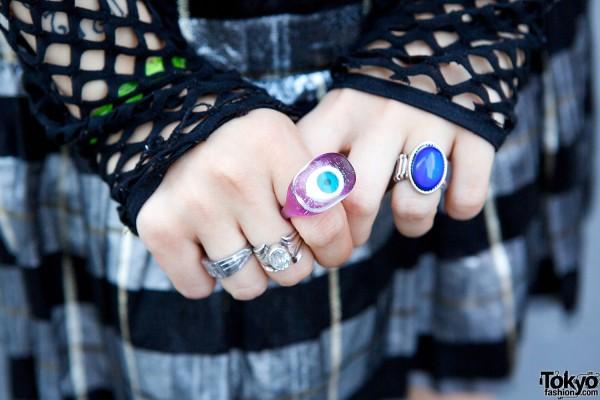 Bubbles Harajuku Rings