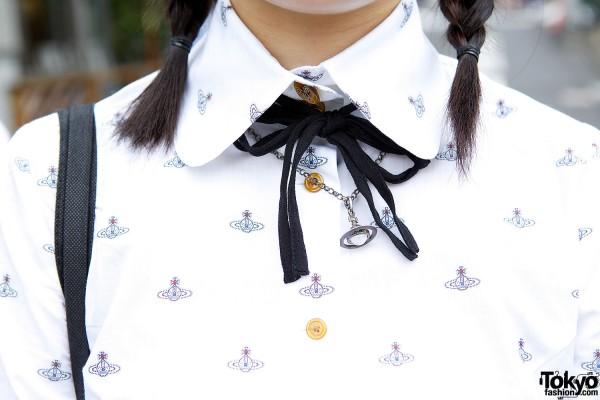 Vivienne Westwood Shirt & Necklace