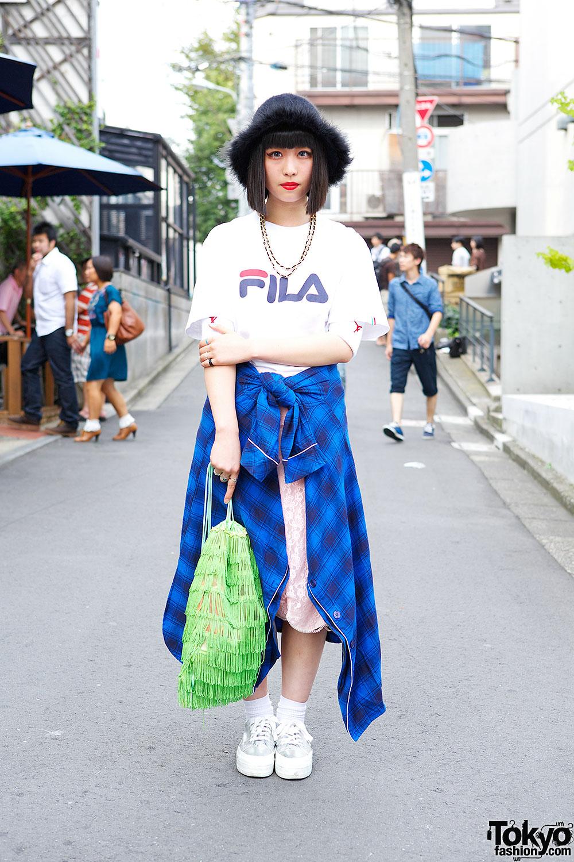 Fila T-shirt & Funktique Skirt