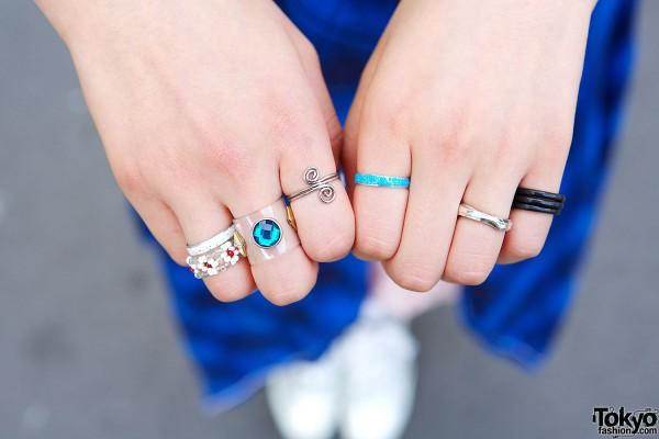 Pin Nap Harajuku Rings