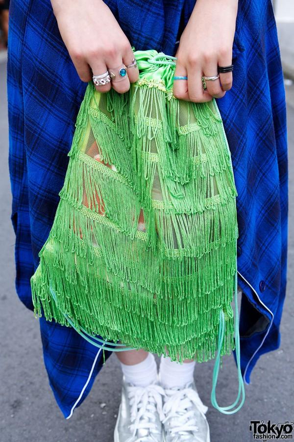 Flea Market Fringe Bag