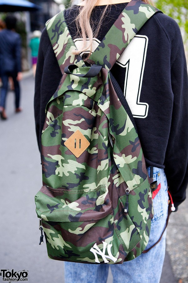WEGO Camouflage Backpack