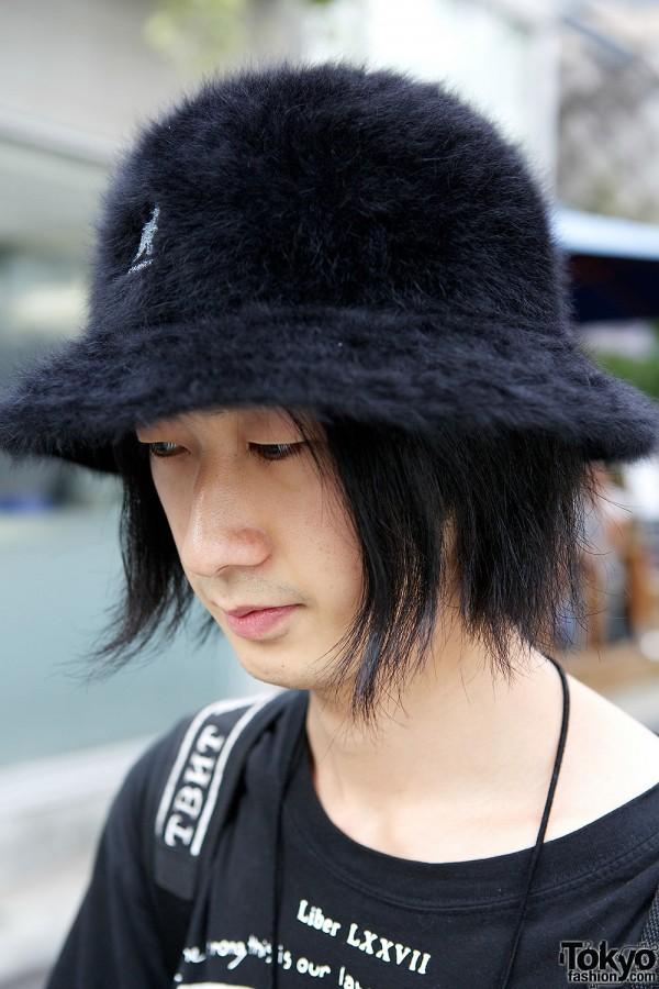 Fuzzy Kangol Hat