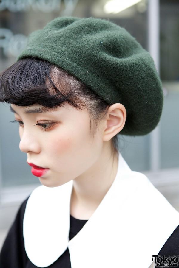 Ruko's Green Hat Red Lips