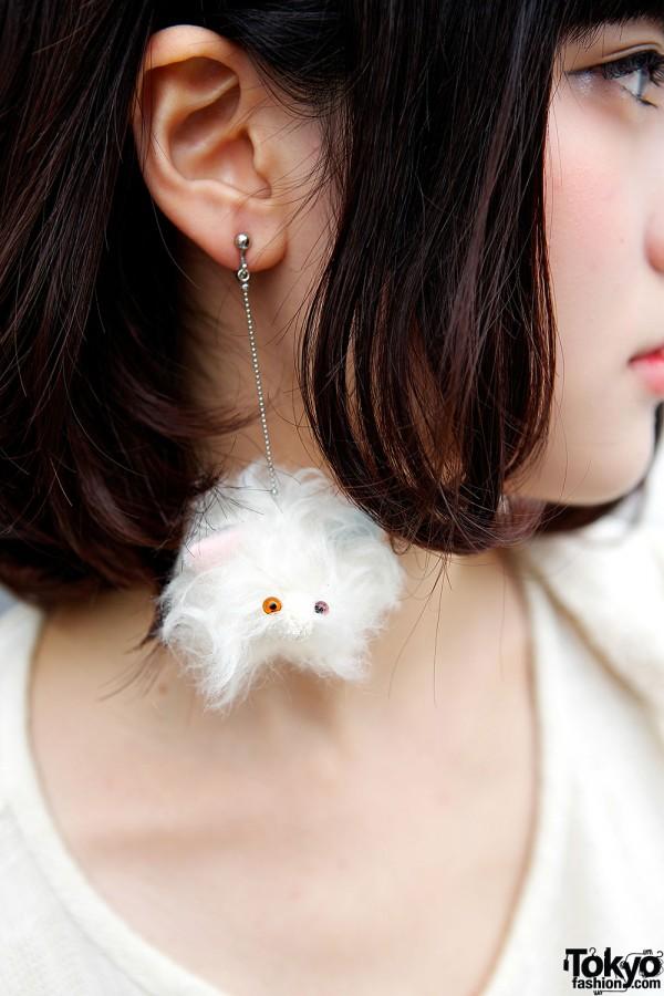 Cute Puff Earring
