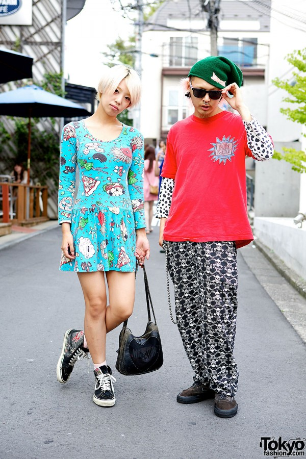 Tokyo Funks, 1980s Vans, Buttstain, Life's a Beach & Jeremy Scott in Harajuku
