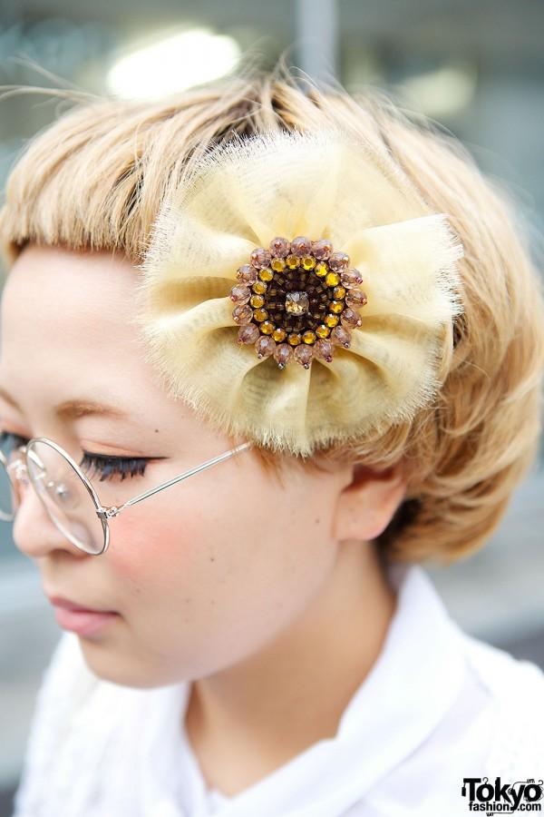 Flower Hair Pin in Harajuku