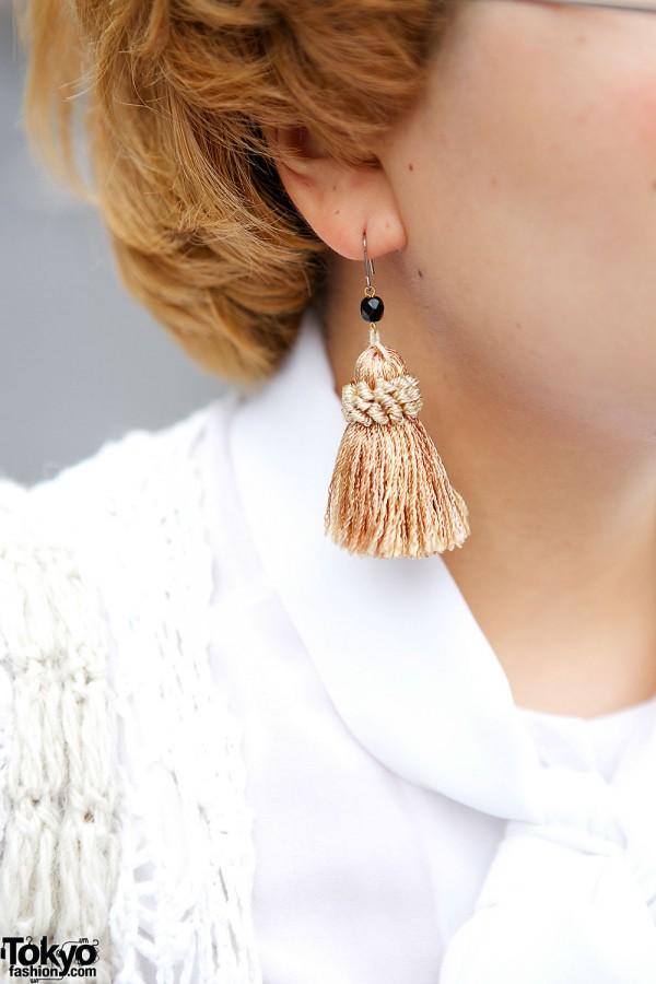 Tassel Earring in Harajuku