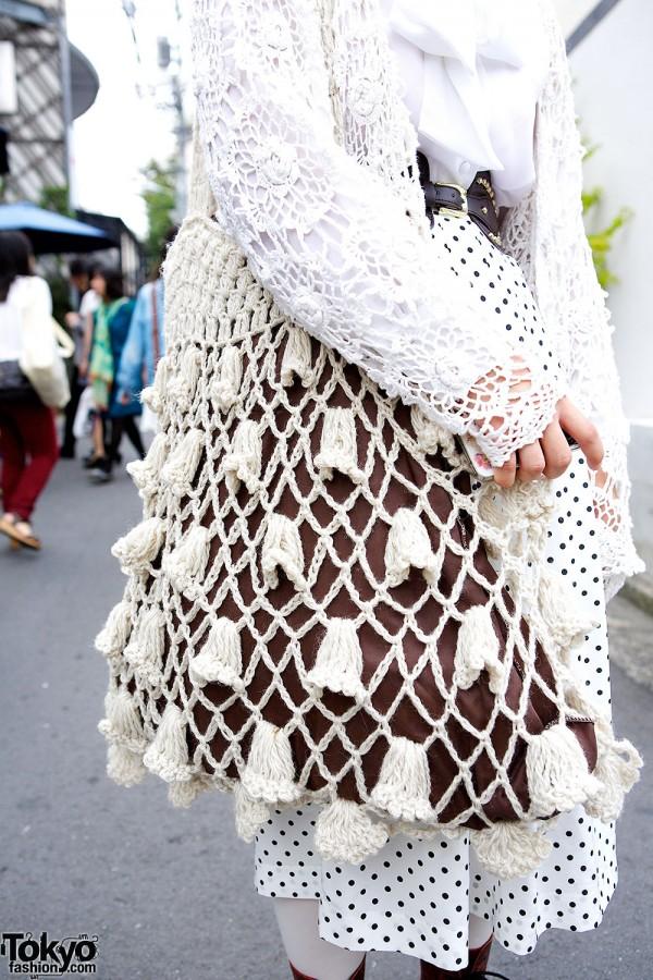 Kiki Crochet Bag