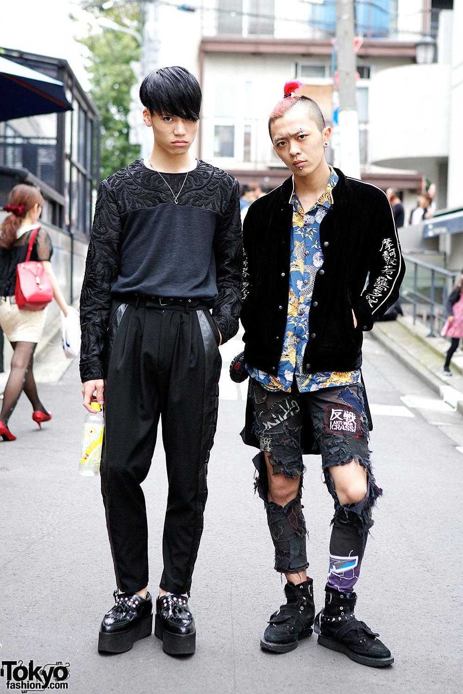 Taiga & Shubo in Harajuku
