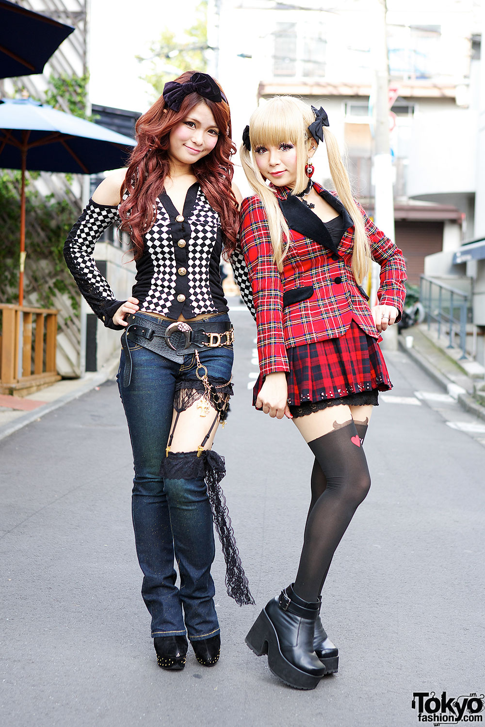image Japanese gyaru schoolgirls with tan skin and makeup showing