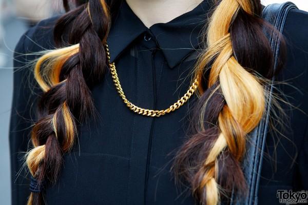 Zara Dress & Spinns Necklace