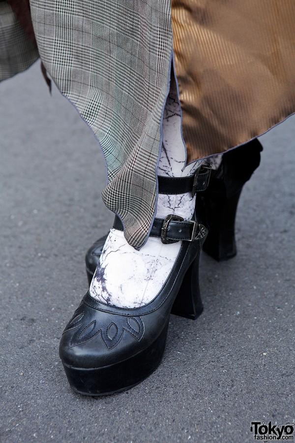 Queen Bee Lolita Shoes