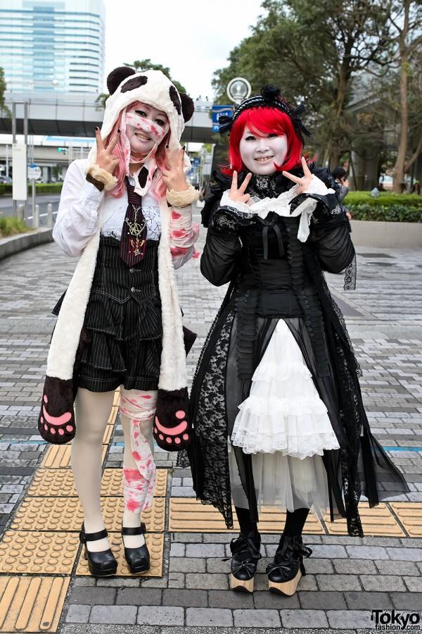 VAMPS Halloween Party Costumes in Tokyo (1)