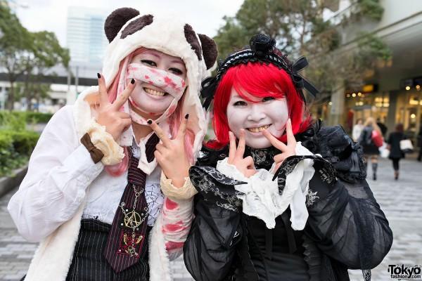 VAMPS Halloween Party Costumes in Tokyo (2)