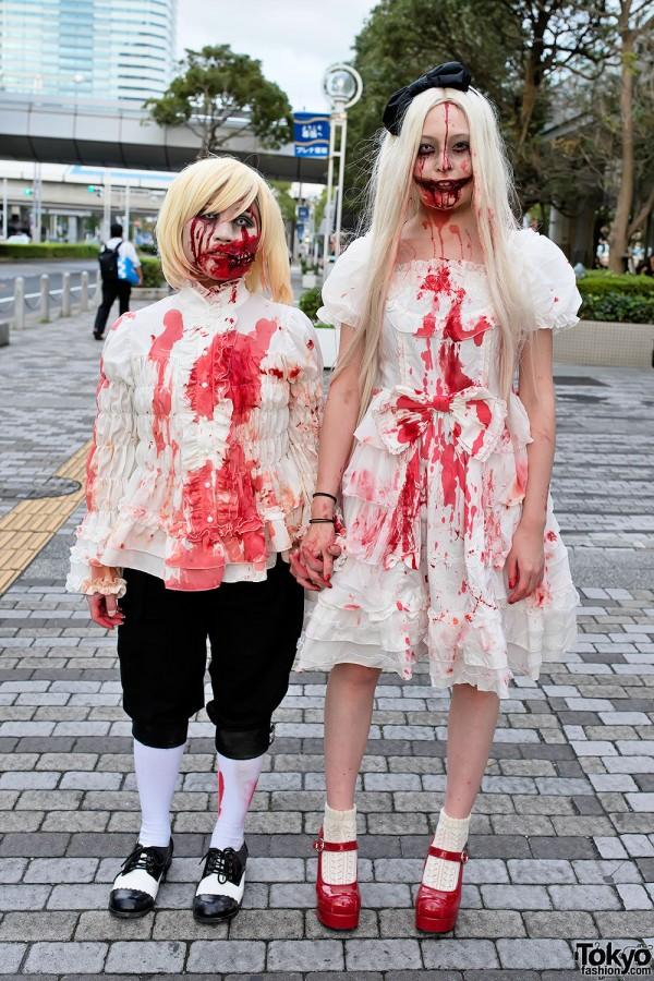 VAMPS Halloween Party Costumes in Tokyo (3)
