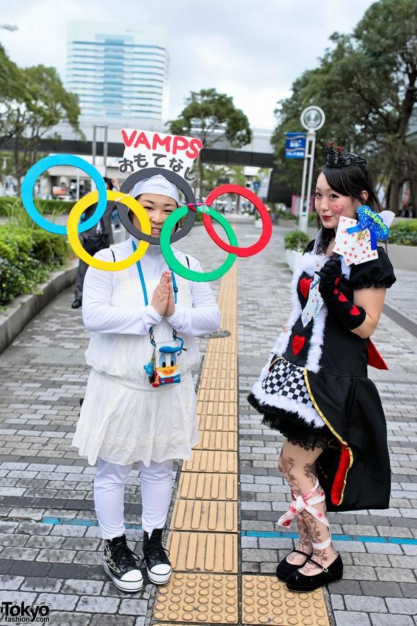 VAMPS Halloween Party Costumes in Tokyo (23)