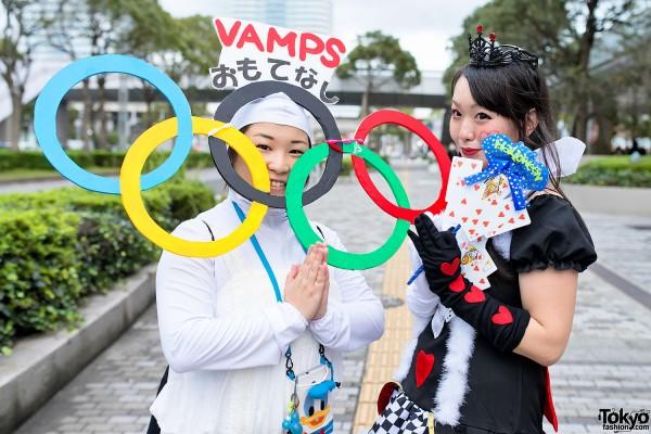 VAMPS Halloween Party Costumes in Tokyo (24)