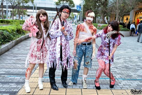 VAMPS Halloween Party Costumes in Tokyo (29)