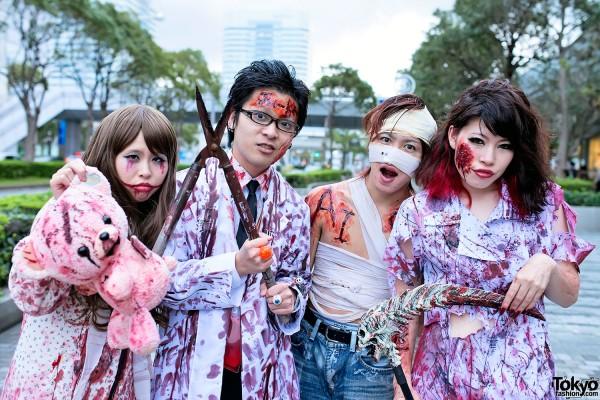 VAMPS Halloween Party Costumes in Tokyo (30)