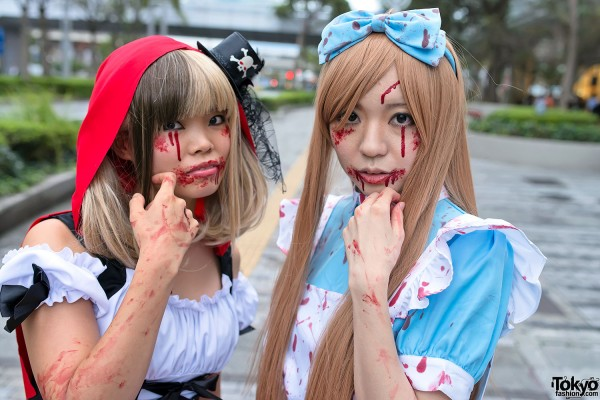 VAMPS Halloween Party Costumes in Tokyo (50)