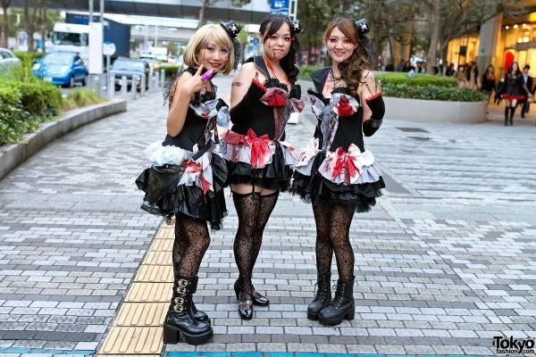 VAMPS Halloween Party Costumes in Tokyo (57)